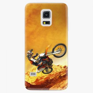 Plastový kryt iSaprio - Motocross - Samsung Galaxy S5 Mini