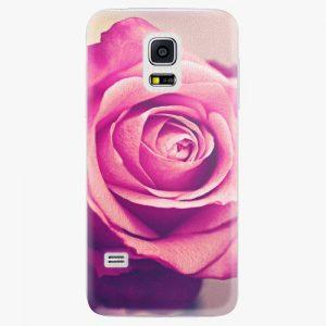 Plastový kryt iSaprio - Pink Rose - Samsung Galaxy S5 Mini