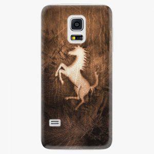 Plastový kryt iSaprio - Vintage Horse - Samsung Galaxy S5 Mini