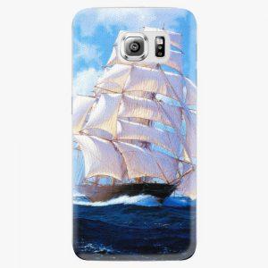 Plastový kryt iSaprio - Sailing Boat - Samsung Galaxy S6 Edge