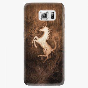 Plastový kryt iSaprio - Vintage Horse - Samsung Galaxy S6 Edge