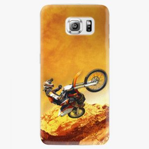 Plastový kryt iSaprio - Motocross - Samsung Galaxy S6 Edge Plus