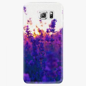 Plastový kryt iSaprio - Lavender Field - Samsung Galaxy S6 Edge Plus