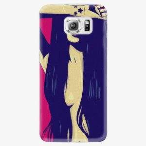 Plastový kryt iSaprio - Cartoon Girl - Samsung Galaxy S6 Edge Plus
