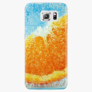 Plastový kryt iSaprio - Orange Water - Samsung Galaxy S6 Edge Plus