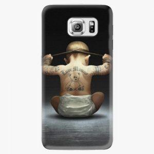 Plastový kryt iSaprio - Crazy Baby - Samsung Galaxy S6 Edge Plus
