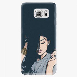 Plastový kryt iSaprio - Swag Girl - Samsung Galaxy S6 Edge Plus