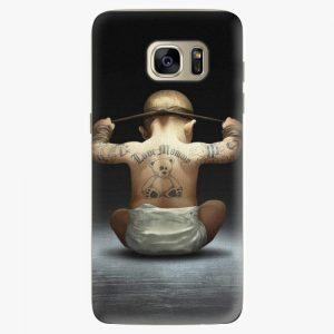 Plastový kryt iSaprio - Crazy Baby - Samsung Galaxy S7