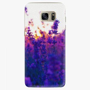 Plastový kryt iSaprio - Lavender Field - Samsung Galaxy S7 Edge