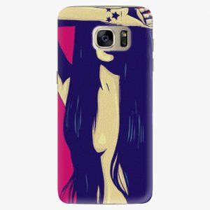 Plastový kryt iSaprio - Cartoon Girl - Samsung Galaxy S7 Edge