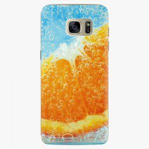 Plastový kryt iSaprio - Orange Water - Samsung Galaxy S7 Edge