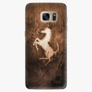 Plastový kryt iSaprio - Vintage Horse - Samsung Galaxy S7 Edge