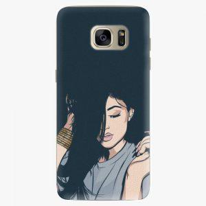Plastový kryt iSaprio - Swag Girl - Samsung Galaxy S7 Edge