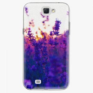 Plastový kryt iSaprio - Lavender Field - Samsung Galaxy Note 2