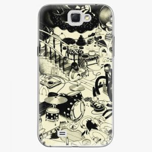 Plastový kryt iSaprio - Underground - Samsung Galaxy Note 2