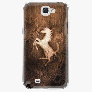 Plastový kryt iSaprio - Vintage Horse - Samsung Galaxy Note 2