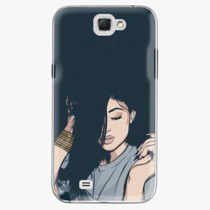 Plastový kryt iSaprio - Swag Girl - Samsung Galaxy Note 2