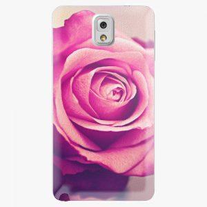 Plastový kryt iSaprio - Pink Rose - Samsung Galaxy Note 3