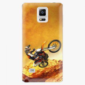 Plastový kryt iSaprio - Motocross - Samsung Galaxy Note 4
