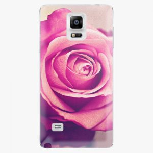 Plastový kryt iSaprio - Pink Rose - Samsung Galaxy Note 4