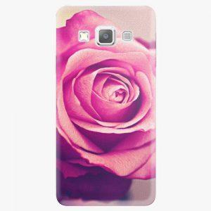 Plastový kryt iSaprio - Pink Rose - Samsung Galaxy A3