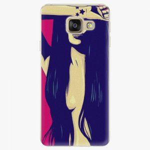 Plastový kryt iSaprio - Cartoon Girl - Samsung Galaxy A3 2016