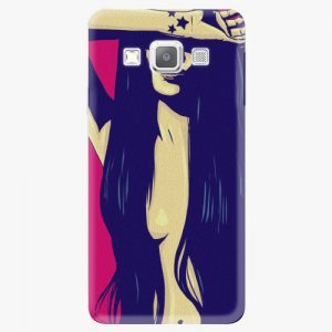 Plastový kryt iSaprio - Cartoon Girl - Samsung Galaxy A7