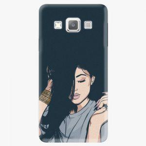 Plastový kryt iSaprio - Swag Girl - Samsung Galaxy A7