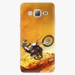 Plastový kryt iSaprio - Motocross - Samsung Galaxy J3 2016