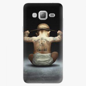 Plastový kryt iSaprio - Crazy Baby - Samsung Galaxy J3 2016