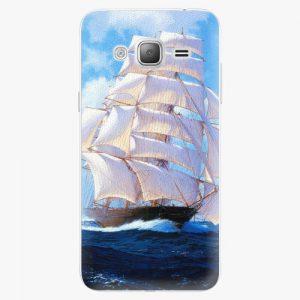 Plastový kryt iSaprio - Sailing Boat - Samsung Galaxy J3 2016