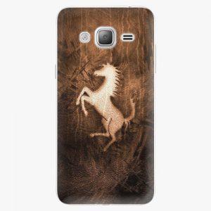 Plastový kryt iSaprio - Vintage Horse - Samsung Galaxy J3 2016