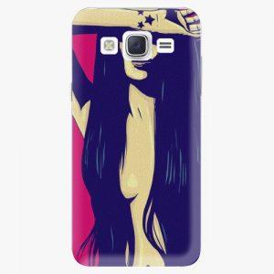 Plastový kryt iSaprio - Cartoon Girl - Samsung Galaxy J5