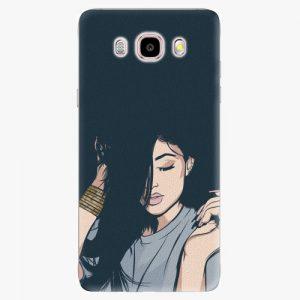 Plastový kryt iSaprio - Swag Girl - Samsung Galaxy J5 2016