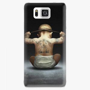 Plastový kryt iSaprio - Crazy Baby - Samsung Galaxy Alpha