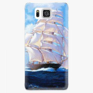 Plastový kryt iSaprio - Sailing Boat - Samsung Galaxy Alpha