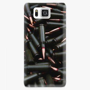 Plastový kryt iSaprio - Black Bullet - Samsung Galaxy Alpha