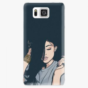 Plastový kryt iSaprio - Swag Girl - Samsung Galaxy Alpha