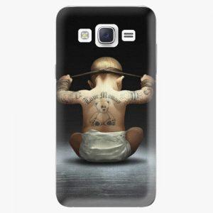Plastový kryt iSaprio - Crazy Baby - Samsung Galaxy Core Prime