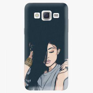 Plastový kryt iSaprio - Swag Girl - Samsung Galaxy Core Prime