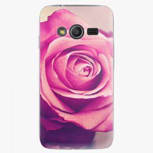 Plastový kryt iSaprio - Pink Rose - Samsung Galaxy Trend 2 Lite
