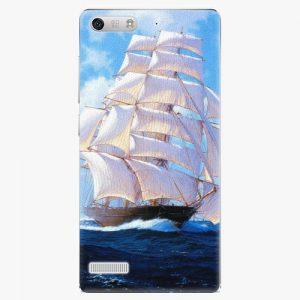 Plastový kryt iSaprio - Sailing Boat - Huawei Ascend G6