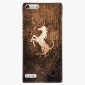 Plastový kryt iSaprio - Vintage Horse - Huawei Ascend G6