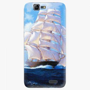 Plastový kryt iSaprio - Sailing Boat - Huawei Ascend G7