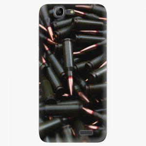 Plastový kryt iSaprio - Black Bullet - Huawei Ascend G7
