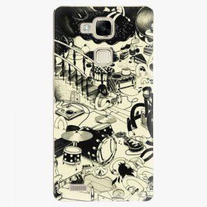 Plastový kryt iSaprio - Underground - Huawei Mate7