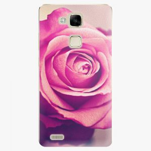 Plastový kryt iSaprio - Pink Rose - Huawei Mate7