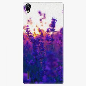 Plastový kryt iSaprio - Lavender Field - Huawei Ascend P7