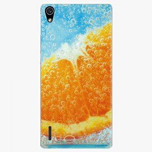 Plastový kryt iSaprio - Orange Water - Huawei Ascend P7