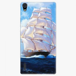 Plastový kryt iSaprio - Sailing Boat - Huawei Ascend P7